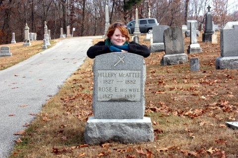 Hillery McAtee, Martin County, St. John's Cemetery